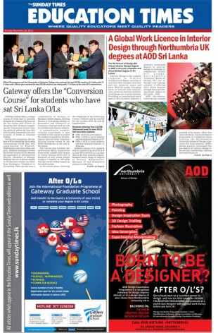 Cover U2013 Education Times