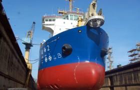 Colombo Dockyard repairs top China Harbour dredger