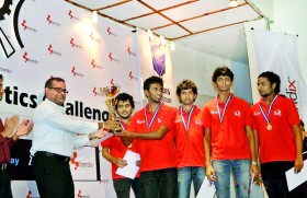 SLIIT students to represent Sri Lanka at International Robotics Challenge – India