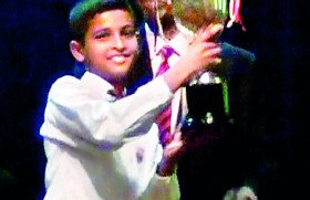 Trinity's Sirisoma named best all-round junior sportsman