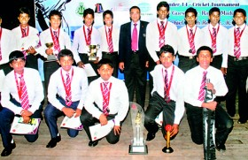 Lucky Rogers claim Nelson Mendis Challenge trophy
