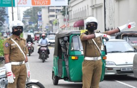 Meet the masked traffic cop in shades