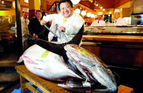 Giant tuna sells for $1.8 million in Japan