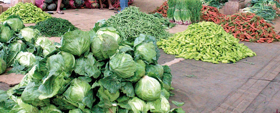 Wet veggies rot as deluges hike prices