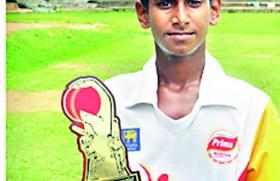 Ashen named U- 15 inter-provincial top player