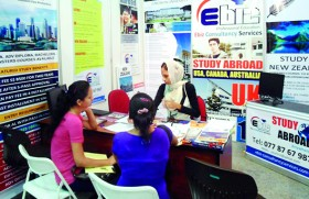 Latvian university admission at Cinnamon Lakeside and Kandy City Centre
