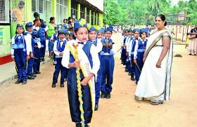 Great impact by Rathnasiri Royal College Elpitiya