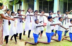 Avitthawa Nalanda MV's task Is to mould students with skill