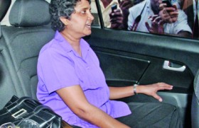 Public outrage over 'unfair' trial for Shirani Bandaranayake