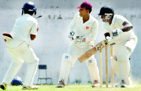 Thilina, Geethika guide St. Benedict's to innings victory