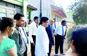 "Vishaka Balika MV in rapid development programme under  ""Mahindodaya"" 1000 schools project"