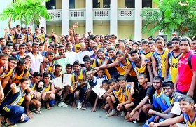 Peterites hit the road for annual 10km race