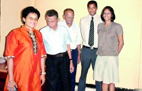 Eric Rajapakse Opticians helps visually handicapped