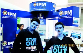 IPM 'Blue men' steal the show at EDEX