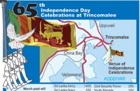 Trincomalee spruced up for Independence Day celebrations