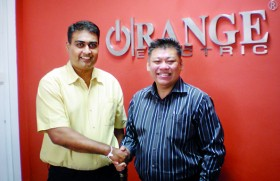 Orange Electric invests in Singapore company, taking on the world