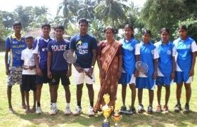 Uduvil Mann's sweep the board in Northern inter club shuttle tourney