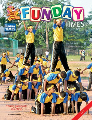 Funday Times Cover Page