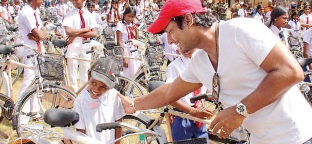 Kumar's push to help children ride into a brighter future