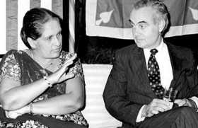 Top US diplomat and ex-ambassador to Lanka dies