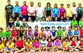 Colombo Under 12 girls TT coaching camp a success
