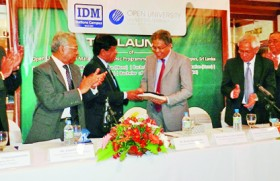 Launch of Open University of Malaysia – Academic Programmes at IDM Nations Campus, Sri Lanka