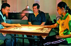 The CCs of carrom are now king and queen