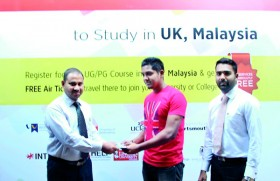 Students receive Free Air Tickets from BCAS to study in Malaysia
