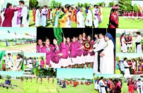 Loretto house victorious at St. Lawrence Convent Sports Meet