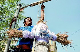 Protests erupt as India executes man