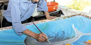 Master of Batik goes abstract in 99th exhibition
