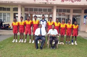 The Under 15 Volleyball  Team