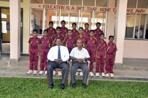 The Under 13 Cricket Team