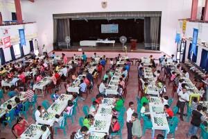 A Chess Tournament at  Damso Main Hall