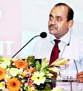 CA Sri Lanka President, Mr. Sujeewa Rajapakse, addressing the audience