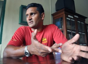Rohan de Silva states Sri Lanka's present set of tennis players are in good shape. - Pic by Amila Gamage