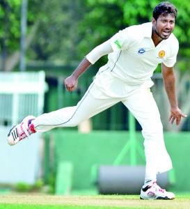 Badureliya paceman Saliya Saman captured eight wickets as SSC tumbled to 102 at Maitland Place.