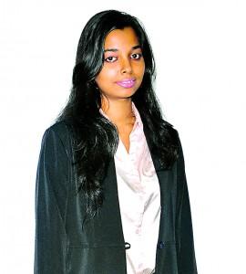 Ms. Dilrukshi Paul, (former head girl of St. Bridgette's Convent Colombo) wins EO Sri Lankan prize at Nov 2012 Exams –