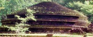 Kaludiyapokuna a historical archaelogical site in Dambulla that was plundered last year.  Pic by Kanchana Kumara Ariyadasa