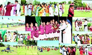 Rev. Fr. Ranjith Madurawela, the General Manager of Catholic Private Schools for Western Province was the chief guest of the 48th annual inter-house sports meet 2013 of St. Lawrence Convent which was held on January 18.