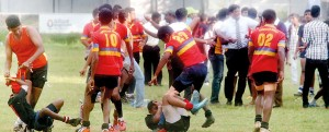 Neither should rugby grounds and occasion be taken as an outing for hooligans to bring in outside issues to start a brawl