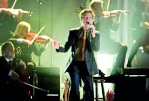 Nate Ruess of indie band Fun. (AFP)
