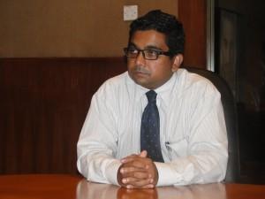 Mr.Harshana Perera, Chief Operating Officer of IIHE
