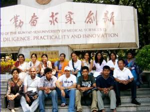 Second batch of students to Sun Yat Sen University from International     Scholar