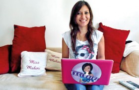 """Meet """"India's blogging princess"""""""
