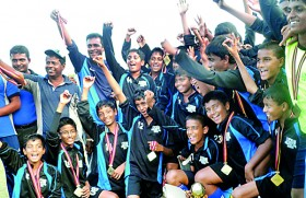 Lyceum Nugegoda emerge U-15 soccer champs