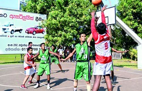 Rotaract Club of  Colombo win inter- Rotaract basketball title