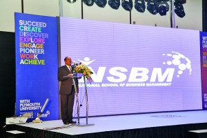 CEO - NSBM addressing the ceremony