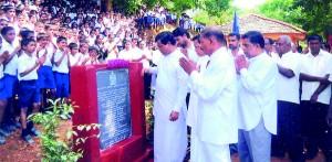 """Mahindodaya 1000 schools project"" opening ceremony"