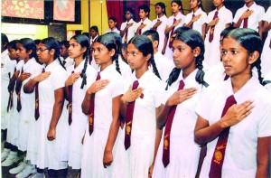 Board of Prefects taking Oath